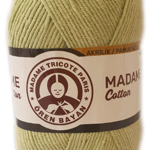 MADAME COTTON 100g-COL.019 LIGHT OLIVE 12