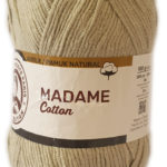 MADAME COTTON 100g-COL.059 BROWN 2