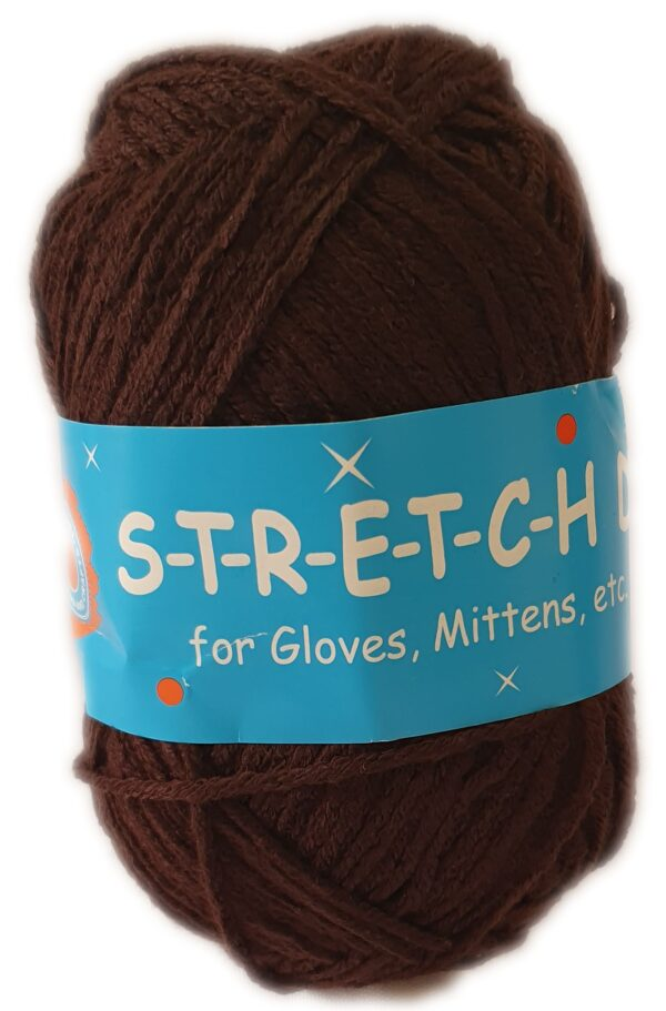 STRETCH D.K 50g-COL.11 CHOCOLATE 1