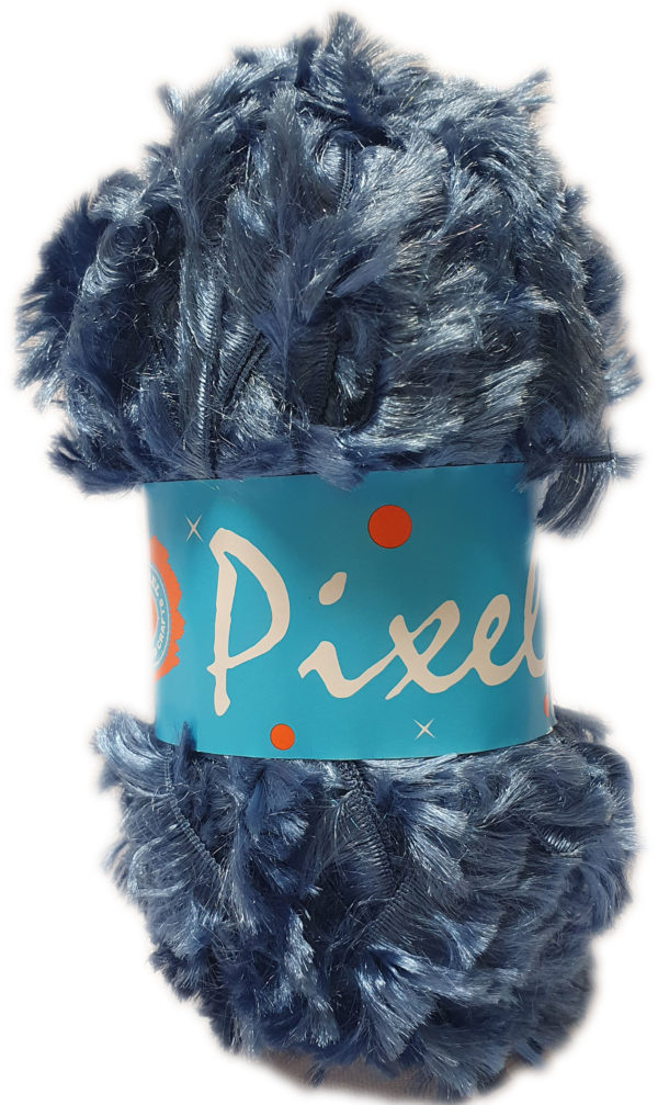 PIXELS 50g-COL.120 DENIM BLUE 1